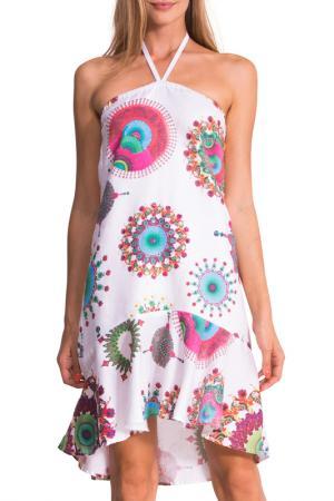 Платье Desigual. Цвет: мультицвет