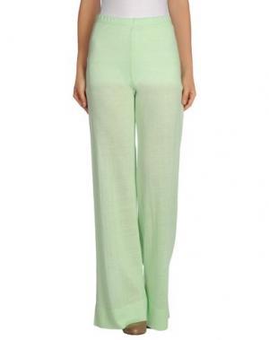 Повседневные брюки NEERA. Цвет: светло-зеленый