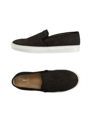 Низкие кеды и кроссовки 1° GENITO. Цвет: черный