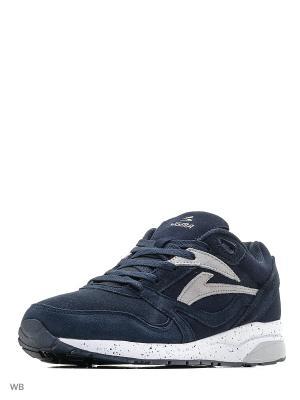 Кроссовки Sigma. Цвет: темно-синий, серый