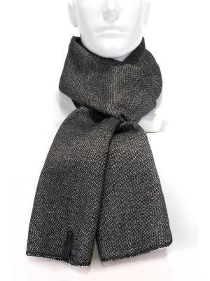 Шарф из пальтовой ткани ANTAR. Цвет: черный, белый