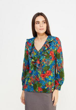 Блуза Pallari. Цвет: разноцветный