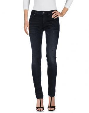 Джинсовые брюки JACK & JONES. Цвет: черный