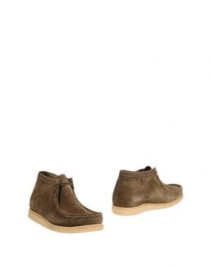 Полусапоги и высокие ботинки SEBAGO. Цвет: зеленый-милитари