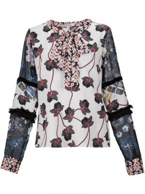 Блузка с цветочным принтом Dorothee Schumacher. Цвет: многоцветный