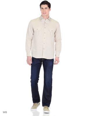Рубашка Nordsilk. Цвет: серо-коричневый, серый