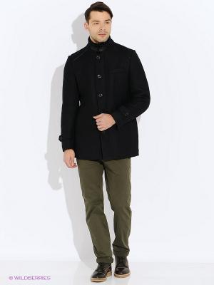 Пальто GZM. Цвет: темно-синий
