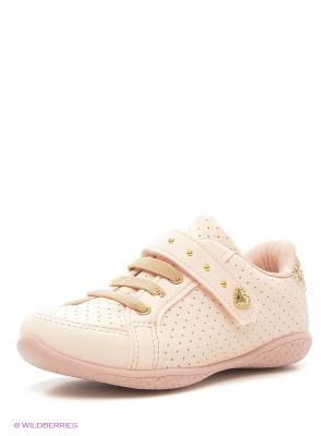 Ботинки Klin. Цвет: розовый