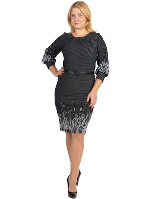 Платье Alego. Цвет: черный