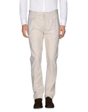 Повседневные брюки C'N'C' COSTUME NATIONAL. Цвет: бежевый