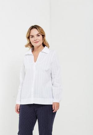 Блуза Olsi. Цвет: белый