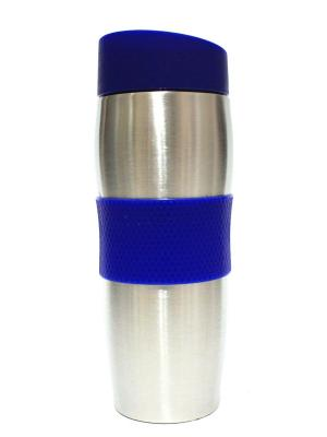 Термос Eleon. Цвет: синий, серебристый