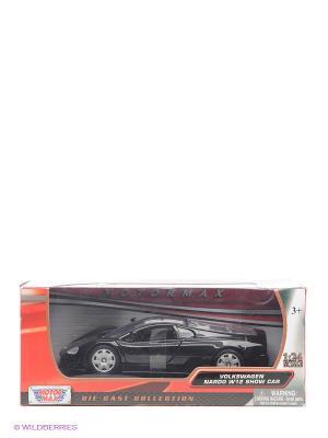 Машинка Volkswagen Nardo W12 Show Car Motormax. Цвет: черный