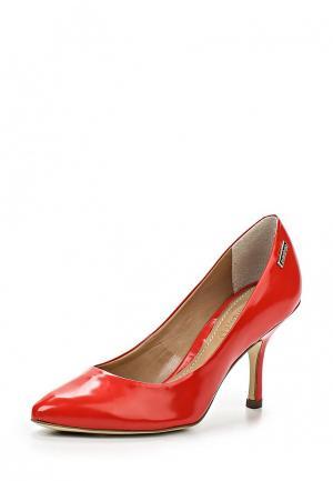 Туфли Dumond. Цвет: красный