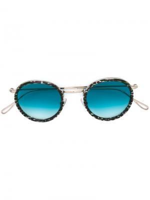 Солнцезащитные очки Matti Kyme. Цвет: зелёный