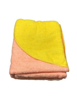 Полотенце-уголок Baby Swimmer. Цвет: персиковый