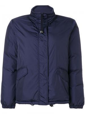 Дутая куртка Cinciallegra Aspesi. Цвет: синий