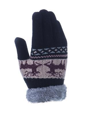 Перчатки детские Cascatto. Цвет: черный