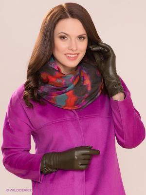 Перчатки Dali Exclusive. Цвет: оливковый