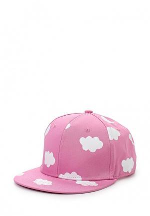 Бейсболка Kawaii Factory. Цвет: розовый