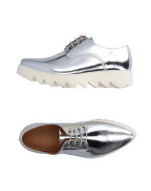 Обувь на шнурках SWEAR-LONDON. Цвет: серебристый