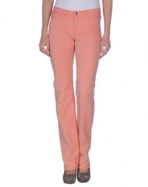 Повседневные брюки 9.2 BY CARLO CHIONNA. Цвет: лососево-розовый