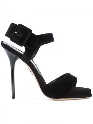 Buckled sandals Paul Andrew. Цвет: чёрный