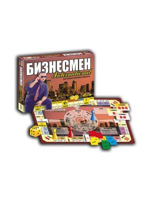 Тop Game. Экономическая настольная игра: Бизнесмен. TopGame. Цвет: желтый, белый, коричневый