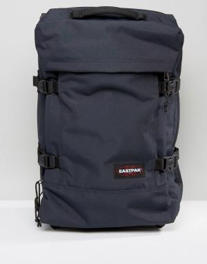 Eastpak Дорожная сумка Strapverz. Цвет: темно-синий