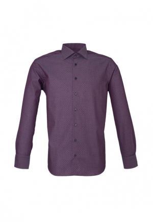 Рубашка Eterna. Цвет: бордовый