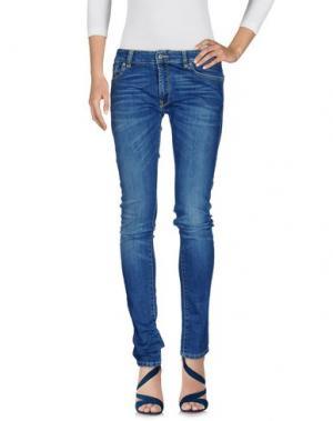 Джинсовые брюки JCOLOR. Цвет: синий