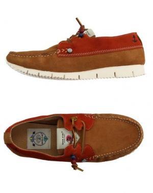 Обувь на шнурках DOLFIE. Цвет: верблюжий