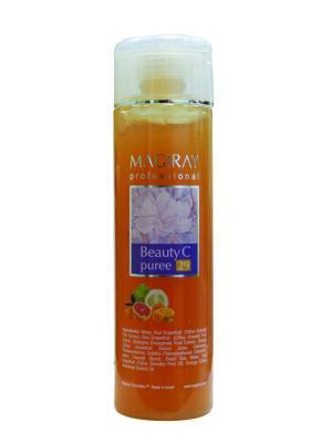 Маска осветляющая, обновляющая Beauty puree С Magiray Cosmetics. Цвет: оранжевый