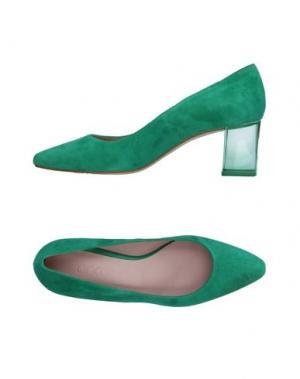 Туфли ANCARANI. Цвет: зеленый