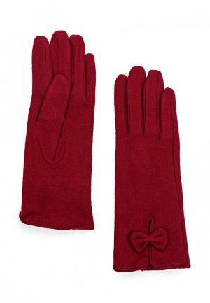 Перчатки Sabellino. Цвет: бордовый