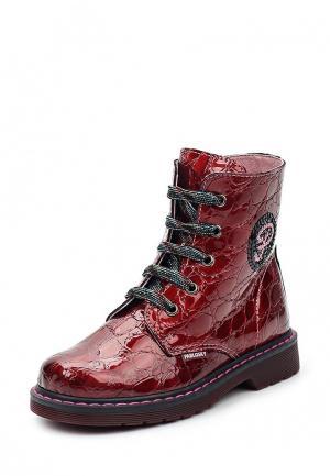 Ботинки Pablosky. Цвет: красный