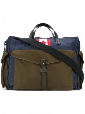 Дорожная сумка Canadian Dsquared2. Цвет: зелёный