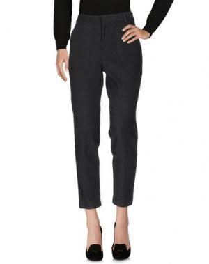 Повседневные брюки NANUSHKA. Цвет: свинцово-серый