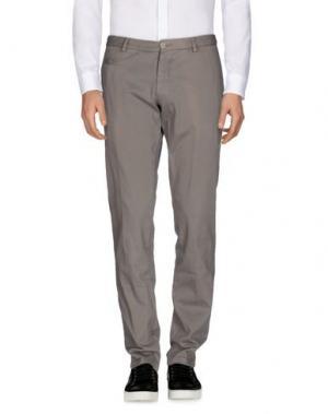 Повседневные брюки ALTEA DAL 1973. Цвет: голубиный серый