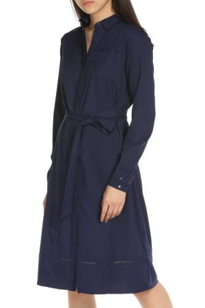 Платье YUMI. Цвет: navy