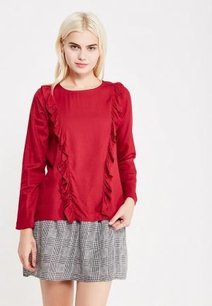 Блуза Compania Fantastica. Цвет: бордовый