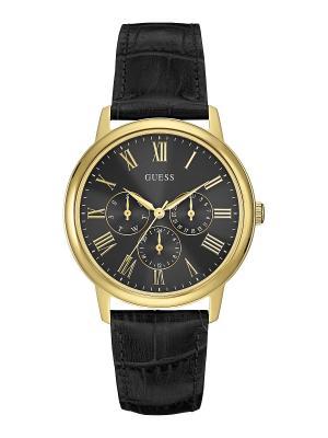 Часы GUESS. Цвет: черный, золотистый