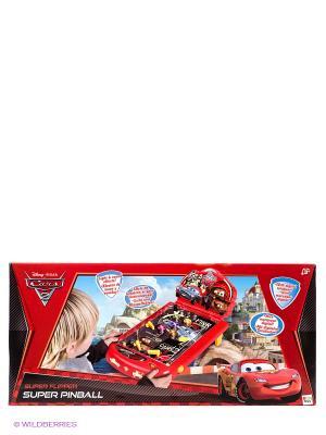 Пинбол Cars2 , со звуком и светом TM Disney IMC toys. Цвет: красный