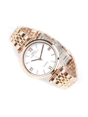 Часы на браслете IBSO. Цвет: золотистый, белый