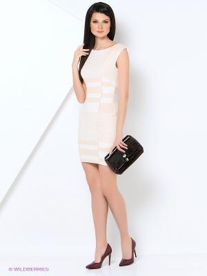 Платье EXPLOSION. Цвет: розовый