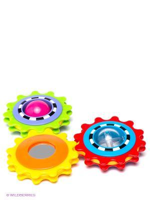 Игрушка Веселое солнышко Playgro. Цвет: желтый, салатовый, сиреневый, красный
