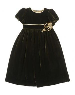 Платье LA STUPENDERIA. Цвет: темно-зеленый