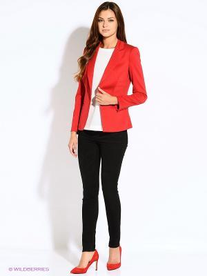 Пиджак INCITY. Цвет: красный