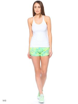 Шорты W NK FLX SHORT 3IN RIVAL PR SU Nike. Цвет: зеленый