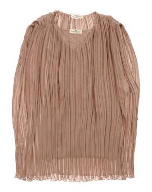Платье LE PETIT COCO. Цвет: светло-коричневый